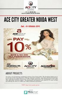ACE CITY GREATER NOIDA WEST | Piktochart Infographic Editor
