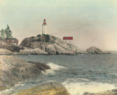 1916: Point Atkinson Lighthouse, West Vancouver.