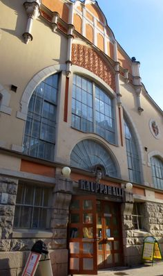 Tampereen kauppahalli, Tampere Market hall Art Nouveau, Art Deco, Cities In Finland, Great Places, Places To Go, Akira, Summer Scenes, Big Town, Scandinavian Countries