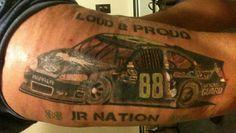 NASCAR Illustrated: One fan's Earnhardt ink   NASCAR.com Nascar Rules, Nascar Live, Nascar Illustrated, Dale Earnhardt Jr, Racing, Ink, Popular, Tattoos, Ideas