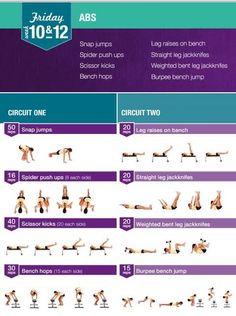 from Bikini Body Guide one Kayla Instines Workouts, Kayla Workout, 12 Week Workout, Bbg Workouts, Circuit Training Workouts, Workout Schedule, Workout Guide, Daily Workouts, Bikini Body Guide