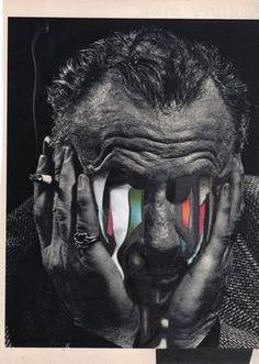 """Saatchi Art Artist Charles Wilkin; Collage, """"In Ruins"""" #art (LL)"""