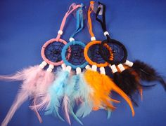 Dream Catcher with Window Sucker Beautiful coloured dream catcher. from a selection of  available colours including - brown, black, white and pink. This is an i