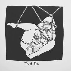 "16.3 mil Me gusta, 157 comentarios - Matt Bailey (@baileyillustration) en Instagram: ""Trust Me."""
