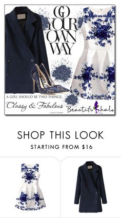 """""""Beautifulhalo III/17"""" by ana-a-m ❤ liked on Polyvore featuring Chanel, Gianvito Rossi, vintage, women's clothing, women's fashion, women, female, woman, misses and juniors"""