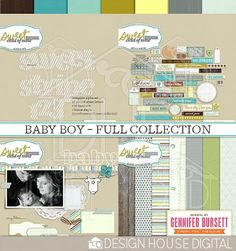 What I plan to use for my sons digital baby book