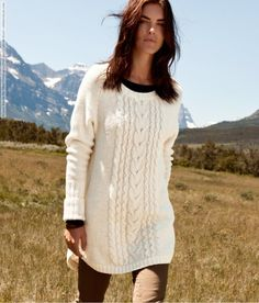 Hilary Rhoda for H&M Catalogue (Fall 2011) photo shoot.