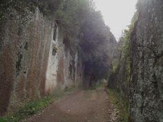 .Via Clodia La via Clodia L'antica strada che collegava Vejo alle città dell'Etruria meridionle. Old Etruscan road.