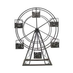 Vita V Home Metal Ferris Wheel Candle Holder - About Vita V HomeLocated in Elk Grove Village, Illinois, Vita V Home is dedicated to bringing the world's best home decor and accessories . Contemporary Candles, Modern Candles, Modern Candle Holders, Candles And Candleholders, Tea Light Candles, Candelabra, Tea Lights, Metal Baskets, Handmade Home Decor