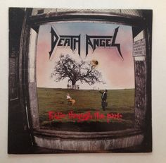 FREE SHIPPING VINYL LP: DEATH ANGEL - FROLIC THROUGH THE PARK (1988 ENIGMA) #BlackGothicMetalDeathMetalDoomSludgeMetalIndustrialMetalPowerProgressiveMetal