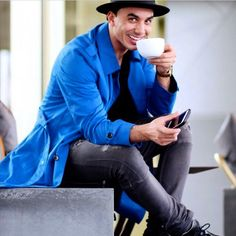 From Facebook Timor Steffens (April 26 2016) ▪️Its always a good time for coffee▪️ Goodmorning ▪️ / Photo by Jamie Li / Published in QUARTER magazine: Style & Coffee / Online magazine by Jamie Li (April 14 2016) http://www.quarter-magazine.com/2016/04/14/style-coffee-timor-steffens