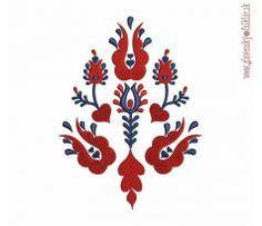 Výšivka Liptov 13x17 cm African Crafts, Folk Embroidery, Scandinavian Design, Flower Designs, Folk Art, Tatting, Diy And Crafts, Vibrant Colors, Applique
