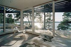 A Summer shelter in Stockholm's Archipelago
