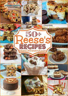50+ Amazing DIY Reese's Dessert Recipes
