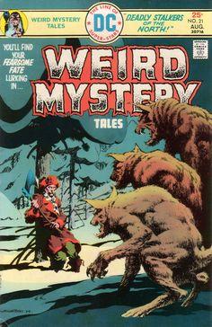 Weird Mystery Comic Book Covers : Photo DC Comic Book modern era covers