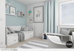 Aranżacja pokoju ucznia - przegląd trendów | Blog MyHom… Baby Room Decor, Bedroom Decor, Cama Futon, Snug Room, Teenage Room, Home Office Decor, Home Decor, Home Room Design, Little Girl Rooms