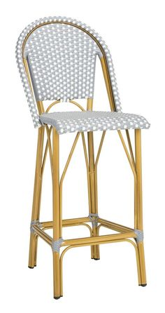Ford Stacking French Bistro Barstool