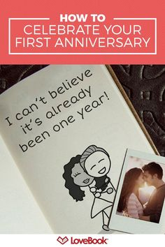 82abca86397 There s a lot of pressure to pick the perfect first anniversary gift.  LoveBook makes it
