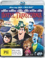 Hotel Transylvania 3D comes to Blu-ray January 17. Starring Adam Sandler, Andy Samberg, Fran Drescher, Kevin James, Steve Buscemi, Molly Shannon, David Spade, Selena Gomez, CeeLo Green, Jon Lovitz. Also in 2D