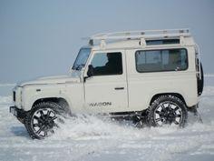 #LandRover Defender #Snow LE - Land Rover Defender Icon