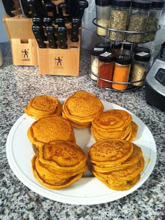 Food Prep for the week - Pumpkin Protein Pancakes - What I've Been Up To | FitFilosophy
