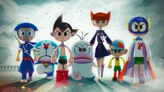 Animation Library, Astro Boy, Affinity Designer, Illustrations And Posters, Manga, Art Blog, Sailor Moon, Disney Characters, Fictional Characters
