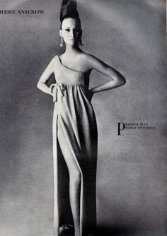 Evening Dress By Jacques Tiffeau