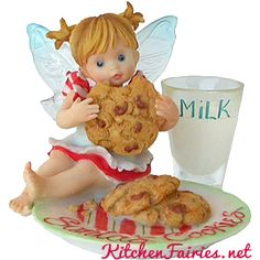 Santa's Cookie Fairie - From Series Twenty Three of the My Little Kitchen Fairies collection