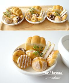 ♡ ♡* Guantera del plato de pan *