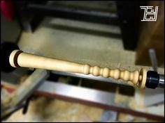 當美國松加起木工車床,遇上EDMUND YIP,27cm木製調酒壓攪棒『BILLY BILLY』。。。