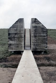 Bunker, Cut in Half