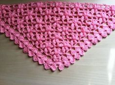 Chal crochet flores puff muy facil de tejer / Châle fleur puff crochet f...