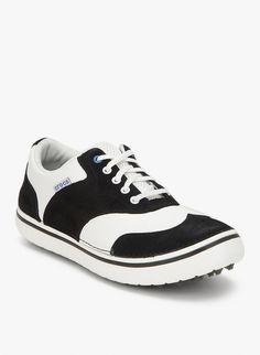 9b6b16cc334 Preston Black Sneakers from Jabong