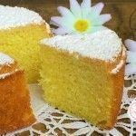 TORTA MARGHERITA DELLA NONNA Köstliche Desserts, Delicious Desserts, Dessert Recipes, Granny's Recipe, Sicilian Recipes, Plum Cake, Angel Cake, Chiffon Cake, Nutella