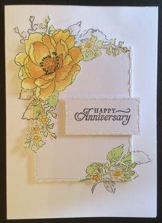 Altenew Beautiful Day Stamp Set Clare Charvill