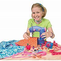 Alex Sew Fun introduces children to the world of sewing with this easy to use, real working sewing machine that is just their size.