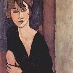 Portrait of Madame Reynouard, 1916, by Amedeo Modigliani