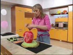 Strawberry Shortcake House step by step