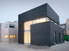 modern brick veneer | the modern use of brick as a siding material would be its use in a ...