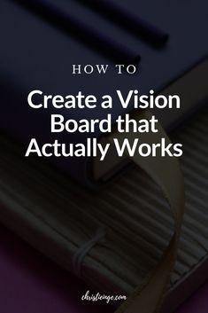 There are a few essential steps if you want to make a vision board that works. In fact, a lot of conversation about vision boards leave out the parts that are truly essential. So, if you want to learn how to make a vision board that works, that doesn't leave out the most important steps, is this is the post for you. #visionboard #howtomakeavisionboard #goals #followyourdreams Creating A Vision Board, Authentic Self, Self Quotes, Bpd, Self Awareness, Learning To Be, Board Ideas, Self Improvement, Compassion