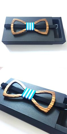 2e654bd6382 New july Male Solid Color Marriage Bow Ties For Men Butterfly Cravat Wood  Bow Tie bowtie