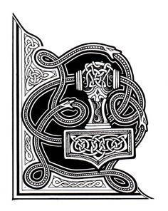Нашивка на липучке Mjolnir