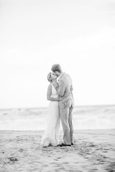 Romantic portrait on the beach. Red Eye Collection, San Francisco Bay Area wedding photographer.