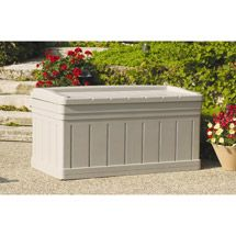 Walmart: Suncast 129-Gallon Deck Box with Seat