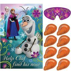 """Disney Frozen spel """"help Olaf zijn neus vinden"""""""