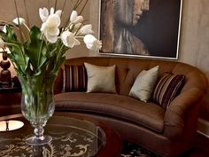 Romantic Living Rooms from Dina Manzo : Designers' Portfolio 4660 : Home & Garden Television#//color-copper/room-living-rooms
