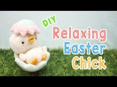 DIY Relaxing Easter Chick Plush - Kawaii Easter Decoration Animal Plush Tutorial - YouTube