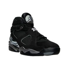 huge discount 4ef0f c5634 Nike Men s Air Jordan 8 Retro Basketball Shoes ( 190) ❤ liked on Polyvore  featuring men s fashion, men s shoes, men s athletic shoes, black, ...