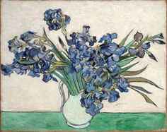 Vincent van Gogh- Irises, one of my favorites...not the famous one
