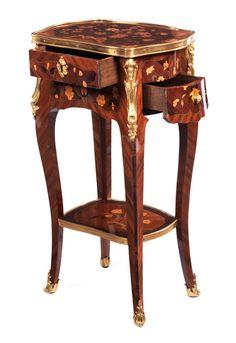 Tables de chevet on pinterest marquetry louis xvi and - Table de chevet louis xv ...